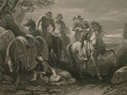 Flight Of The Earls engraving