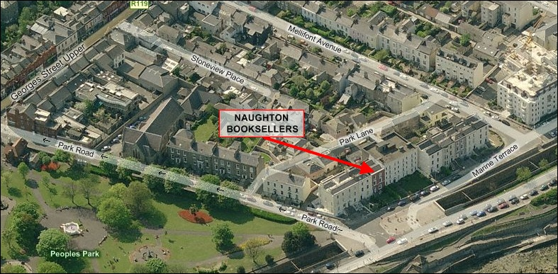 Naughton Booksellers Aerial View
